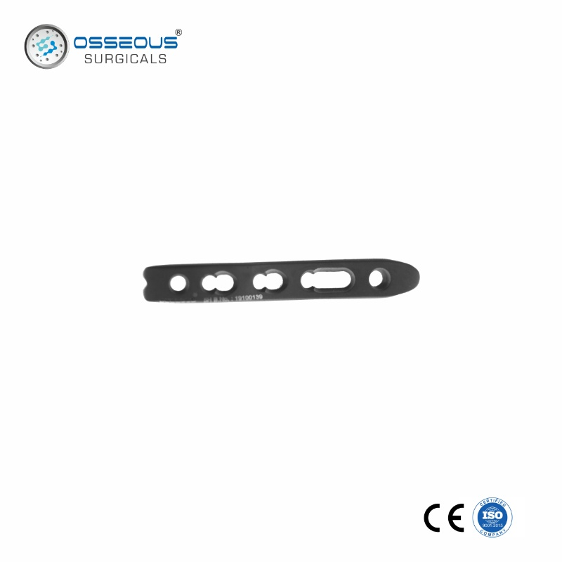 2.4 & 2.7 MM LCP DISTAL RADIUS PLATE STRAIGHT - DORSAL