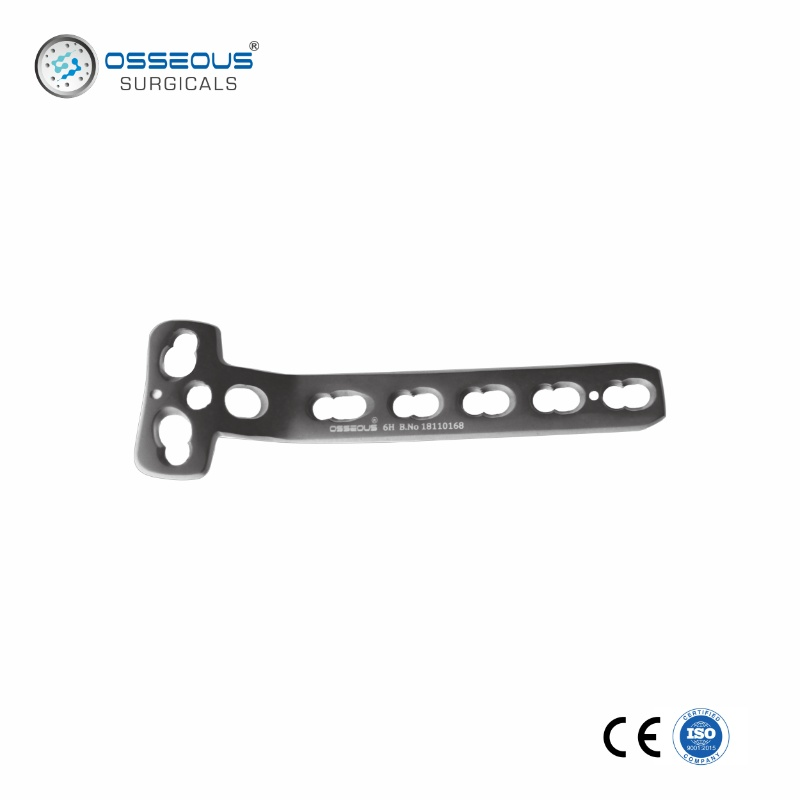 5.0 MM LCP T-BUTTRESS PLATE